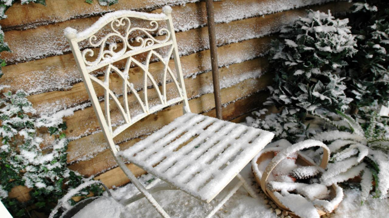 Snowy Chair