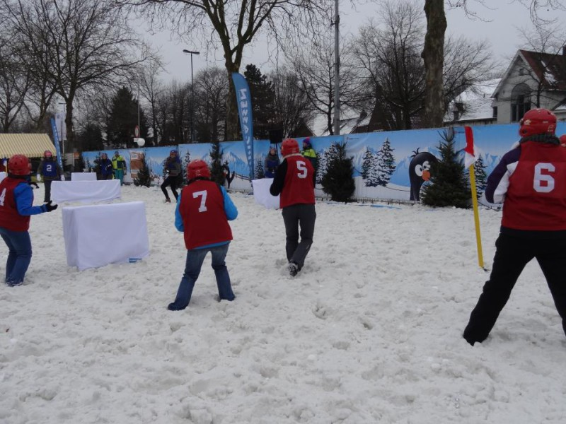 Snowfight yukigassen holland