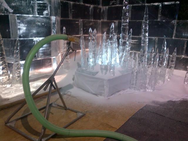 winter wonderland crushed ice