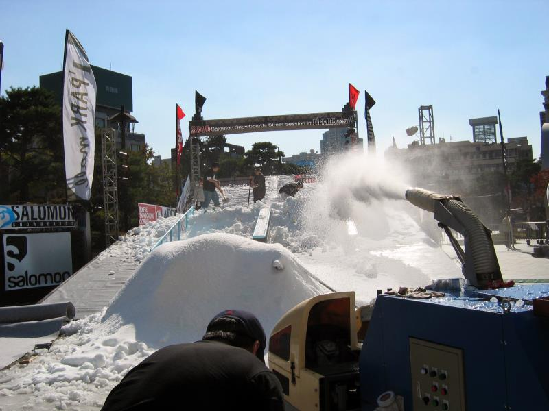 snow slope i2s