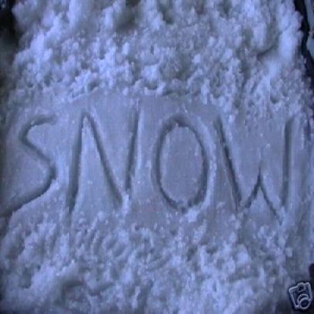 Snow print polymer