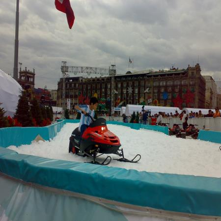 snow scooters mexico