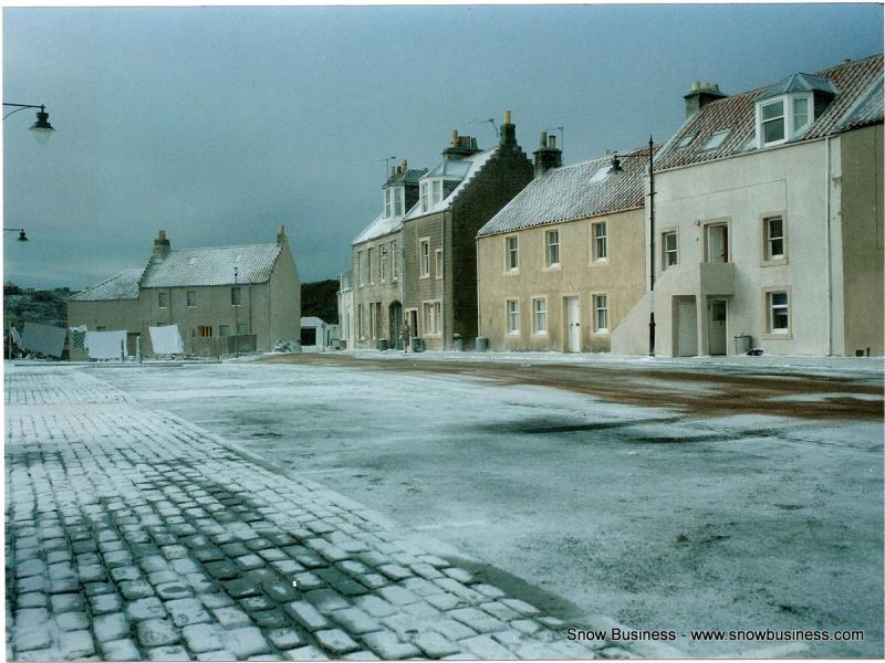frozen town