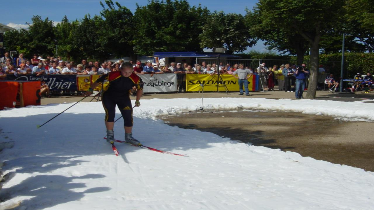 Piste for cross counrty