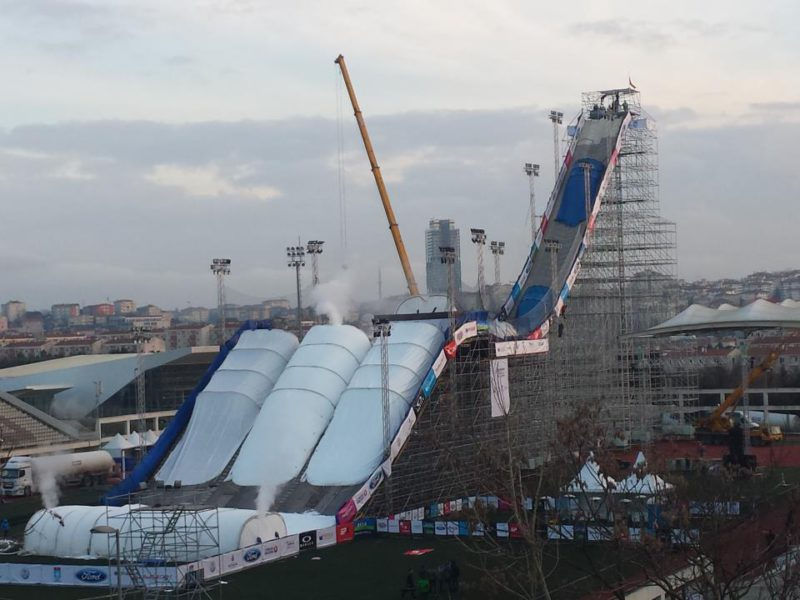 World cup snowboard big air, istanbul