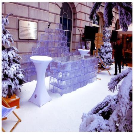 Ice Bar fake ice