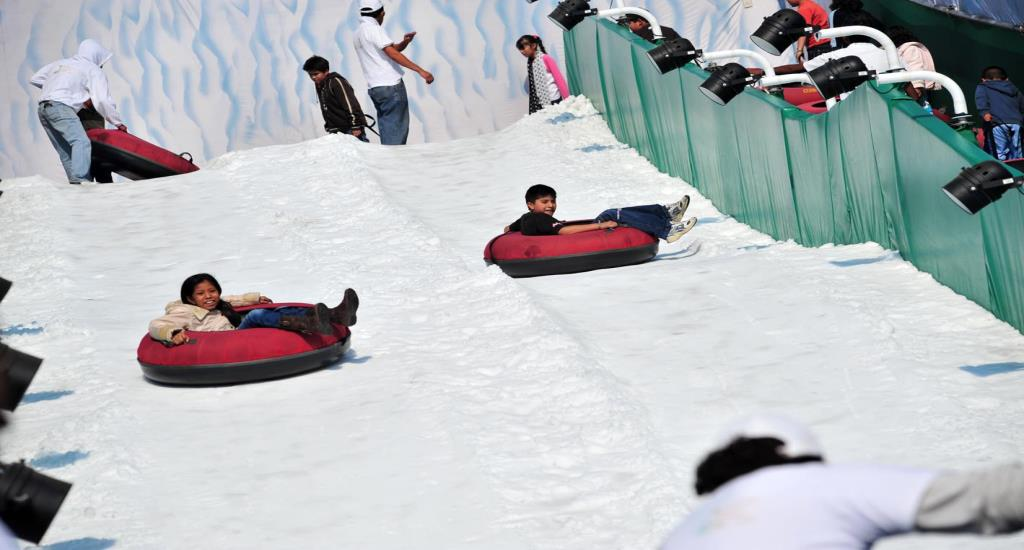 Mexico City Summer slide