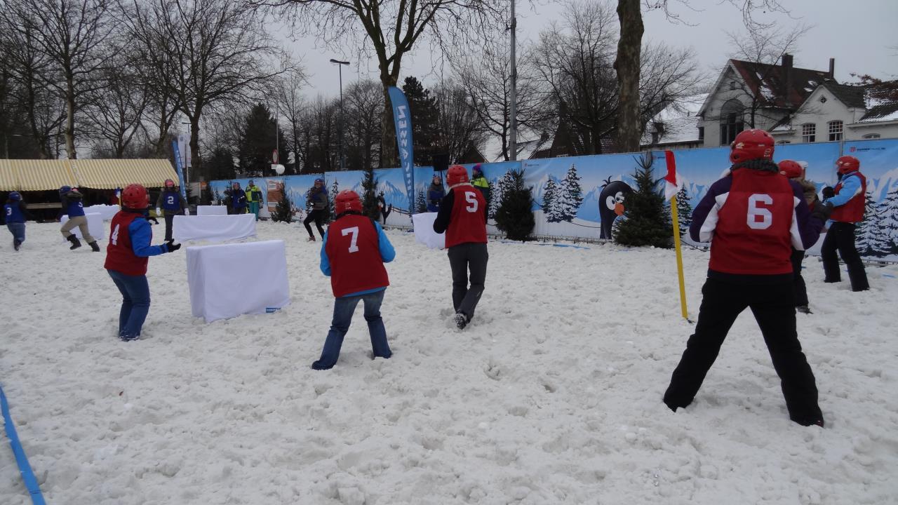Snowfight yukigassen holland