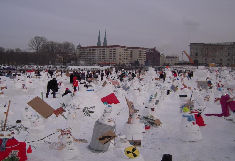 berlin, Snowman