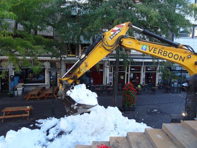 digging the bulk snow