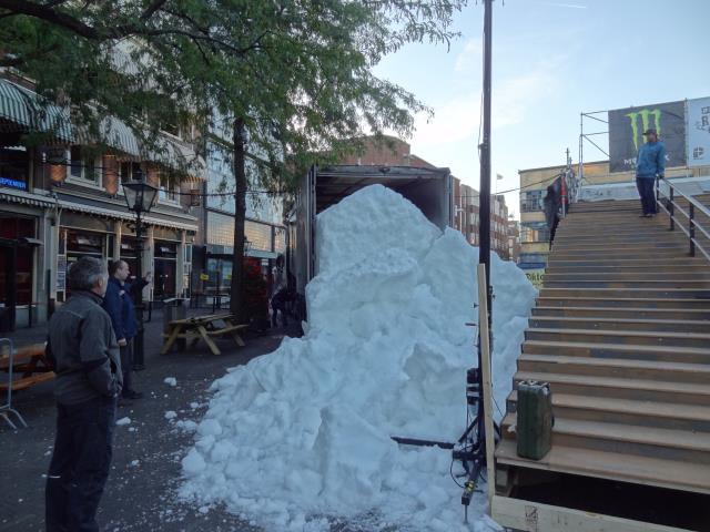 bulk snow unloading