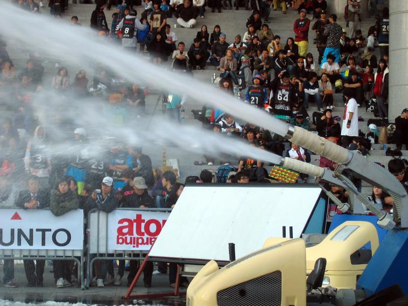 ice2snow spraying