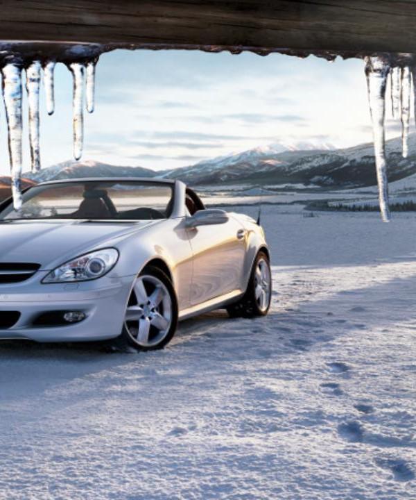 Icicels Mercedes Benz