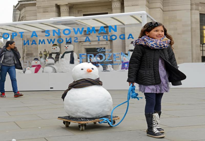 Snowman, Disney Frozen