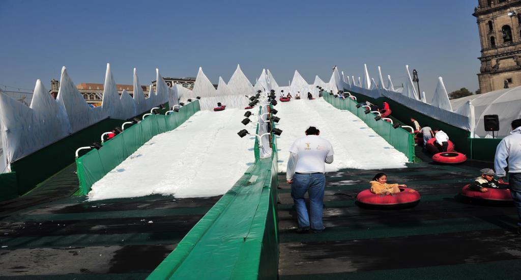 Snowtubing mexico