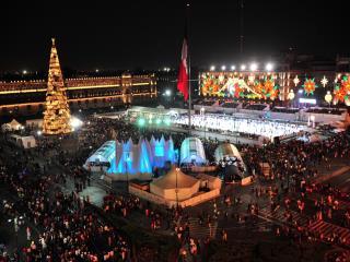 winter wonderland Mexico